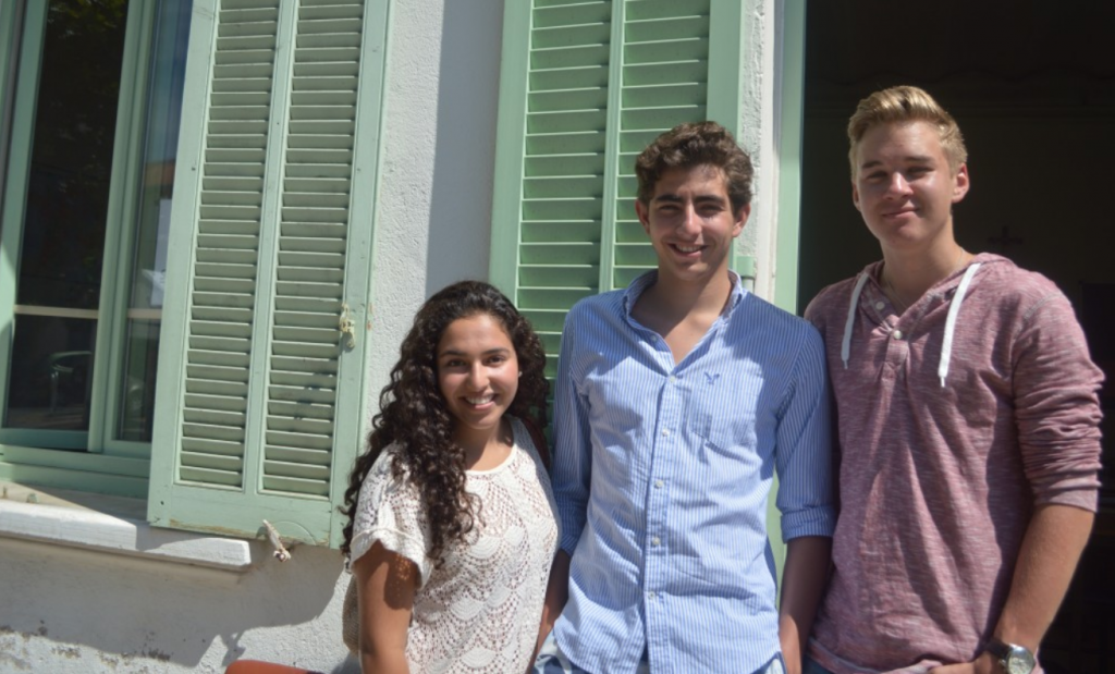 Teenagers learn French and make new friends at French summer school in Cannes