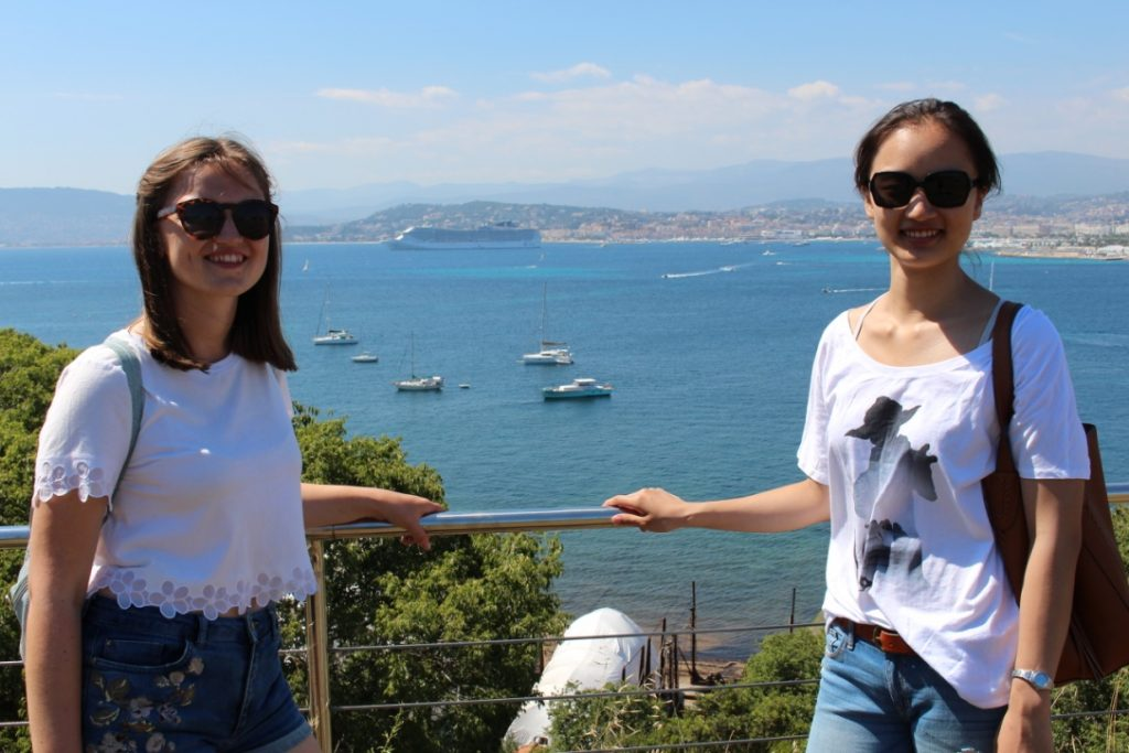 Students visit Lérins islands during their French language holiday courses in the south of France