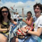 Boat trip in Cannes with French summer classes