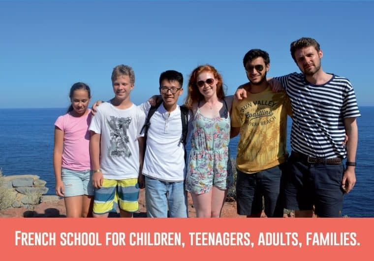 French summer classes brochure
